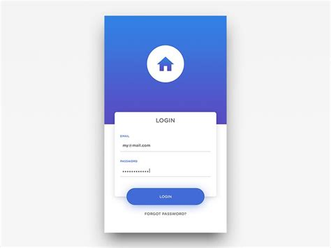 design login form in android 93 best login page images on pinterest app login app