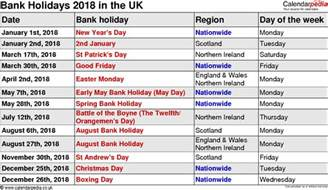 Calendar 2018 With School Holidays Uk March 2018 Calendar With Holidays Uk Calendar Printable Free