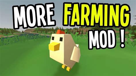 cara mod game lets farm unturned new chicken mob coffee more farming mod
