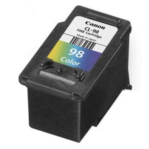 canon e510 cartridge resetter canon cl 98 color cartridge