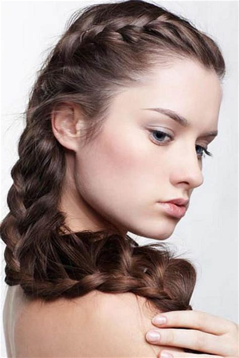 hairstyles for short hair double crown double crown braid hairstyle hair nails looks how