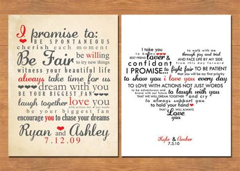 Wedding Vow Keepsake: What Would Yours Say?   Emmaline Bride®