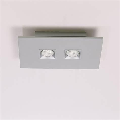 Polifemo 2 Light Rectangular Ceiling Flush Mount By Rectangular Ceiling Light