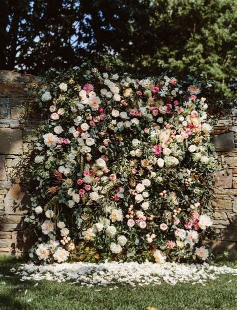 Wedding Backdrop Ideas Vintage by 10 Brilliant Flower Wall Wedding Backdrops For 2018 Oh