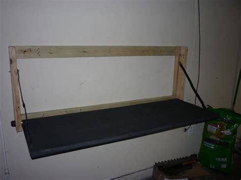 tailgate bench on wall pin by tammy zeigle on organize the garage pinterest