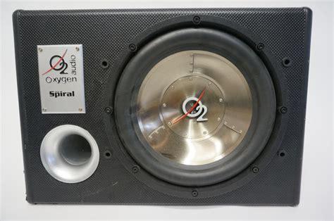 Speaker Oxygen 12 quot oxygen audio subwoofer in a enclosure box property room
