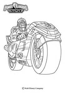 power rangers motor bike coloring pages hellokids