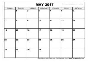 may 2017 calendar template monthly calendar printable