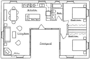 Plan Home Design Software 1 04 U Shaped House Floor Plan Small U Shaped House Plans