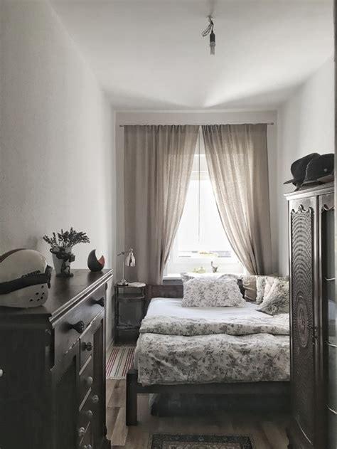 schmales schlafzimmer schlafzimmer aufpeppen