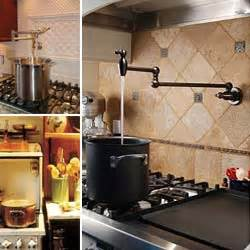 a pot filler must for canning kitchen