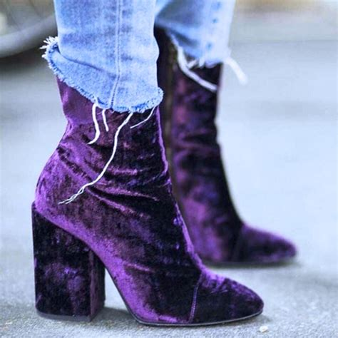 25 badass velvet boots shoes where did u get that