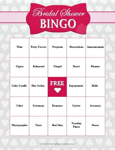 printable bridal shower games for free 10 free printable bridal shower games