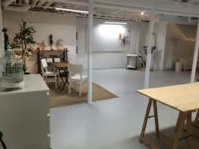 semi finished basement studio in semi finished basement spray paint ceiling