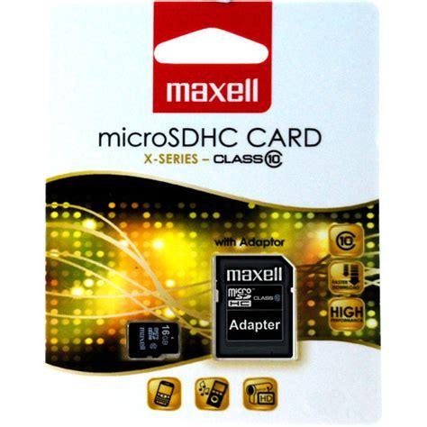 Maxell Micro Sd 16gb Class 10 Gold maxell micro sdhc muistikortti 16 gb class10 adapteri
