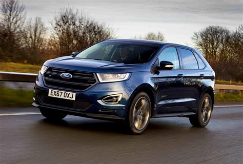 ford car line ford edge st line 2 0 tdci review business car manager