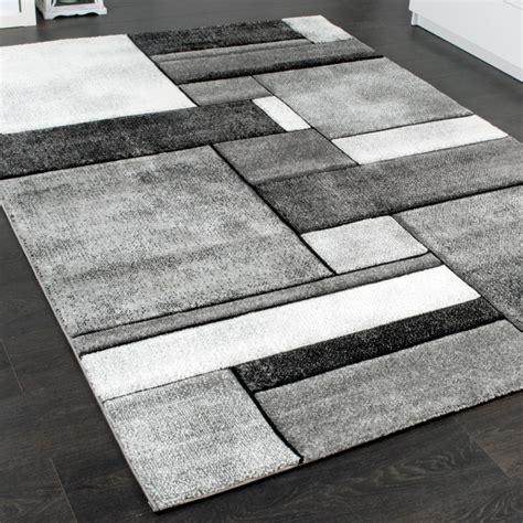 Turquise Living Room - designer carpet modern rug chequered living room carpet in grey mixture modern rugs
