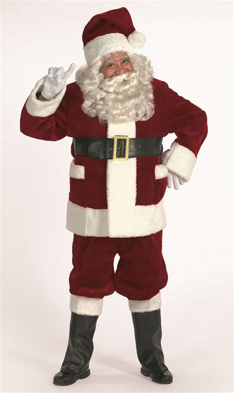 professional santa claus suits and costumes