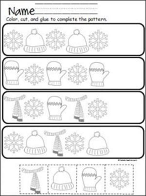 pattern cutting activities pattern worksheet for kids crafts and worksheets for