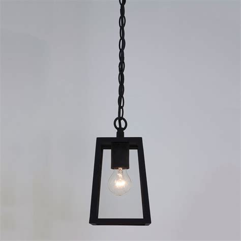 Astro Calvi Black Outdoor Pendant Light At Uk Electrical Pendant Light Supplies