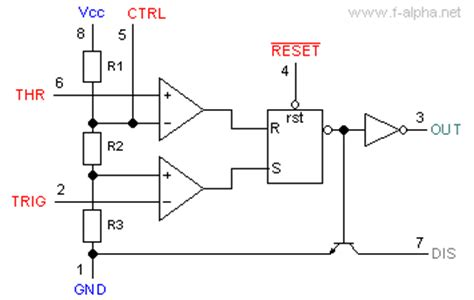 what does a 555 integrated circuit do f alpha net timer ne555