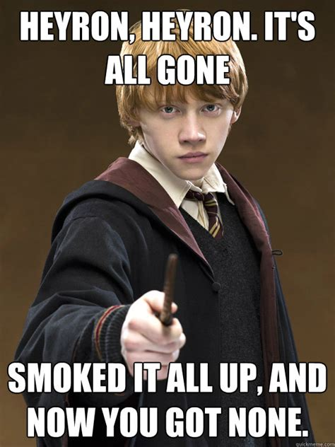 Ron Meme - ron weasley memes quickmeme