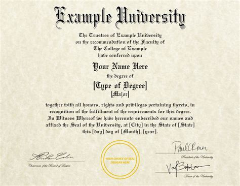 college degree template diplomas certificates college replicas