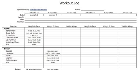 the best strength conditioning excel template ever youtube