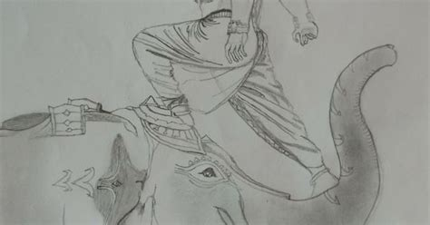 Bahubali 1 Sketches by Last I Had Sketched This One The Quot Bahubali 2