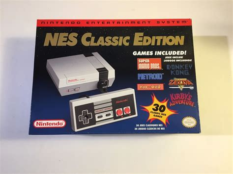 nintendo entertainment system nes classic edition systems