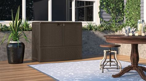 suncast backyard oasis storage and entertaining station suncast backyard oasis storage and entertaining station