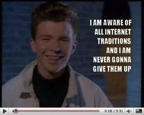 never gonna give you up mp why we re never gonna give up on the rickroll