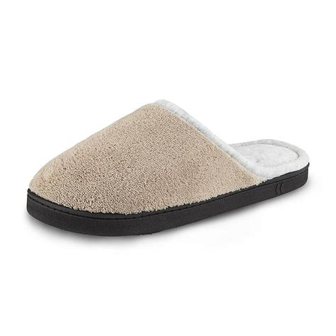 wide slippers for isotoner s chukka wide width clog slipper