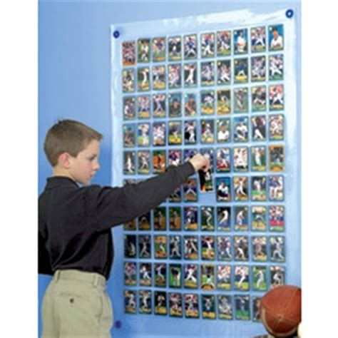 Ways To Display Gift Cards - trading cards wall pocket findgift com