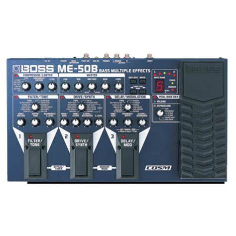 Unit Me 50 B Bass me50b bass multi effect bas pedal pedal effects pedals at promenade
