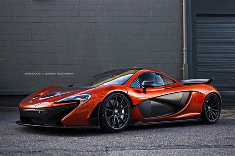mclaren p1 volcano orange mclaren p1 174 in canada gtspirit
