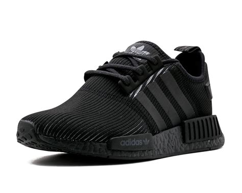 Addidas Black Ready Uk 41 get ready for another black adidas nmd r1 now with reflective 3m stripes upcoming