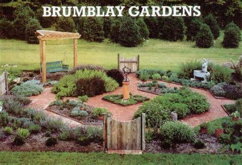 formal herb garden brumblay gardens services