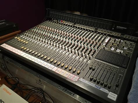 Mixing Desk Flight by Behringer Mx8000 24 Channel Mixing Desk Flight Meter Reverb