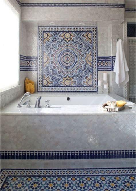 Bathroom Floor Tiles Moroccan 30 Moroccan Inspired Tiles Looks For Your Interior