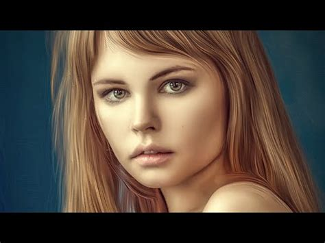 oil painting tutorial photoshop cs5 oil painting photo effects photoshop cc tutorial in