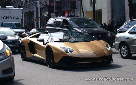 Lamborghini Aventador Price Canada Lamborghini Aventador Spotted In Montreal Canada On 04 09