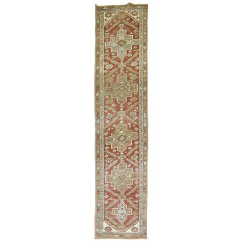 Shabby Chic Runner Rug Shabby Chic Heriz Runner For Sale At 1stdibs