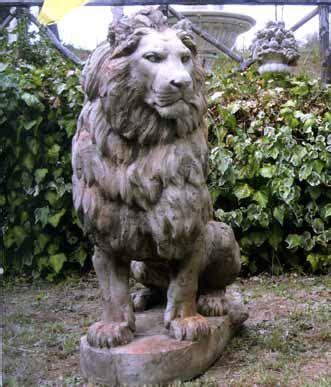 lioni da giardino offerte giardino animali gigante bm225 animali bm225