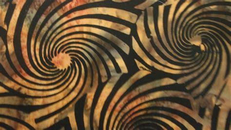 Black Batik hoffman fabrics black brown swirls batik