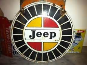 Vintage Jeep Sign Vintage Jeep Signs Dealership American Jeep Dsided