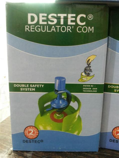 Regulator Gas Tekanan Rendah Destec Regulator 201 M jual tanpa selang destec regulator lpg safety system vanessa eletronic shop