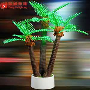 dongyu outdoor lighted up led palm tree buy outdoor