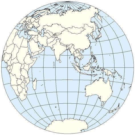 map world eastern western hemisphere eastern hemisphere
