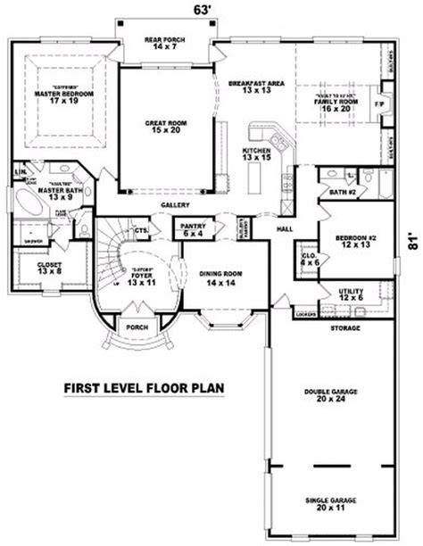 4000 square foot house plans ranch house plans 4000 square feet